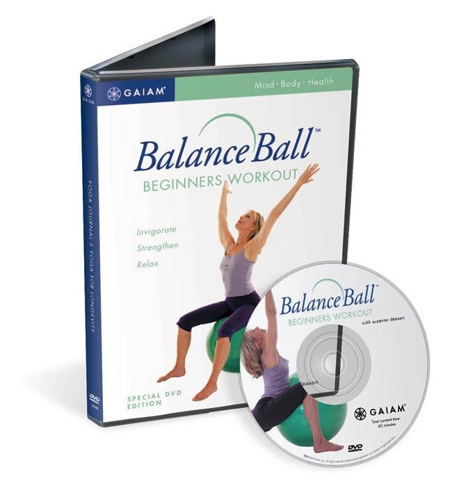 Balance Ball Dvd: Gaiam BalanceBall For Beginners DVD