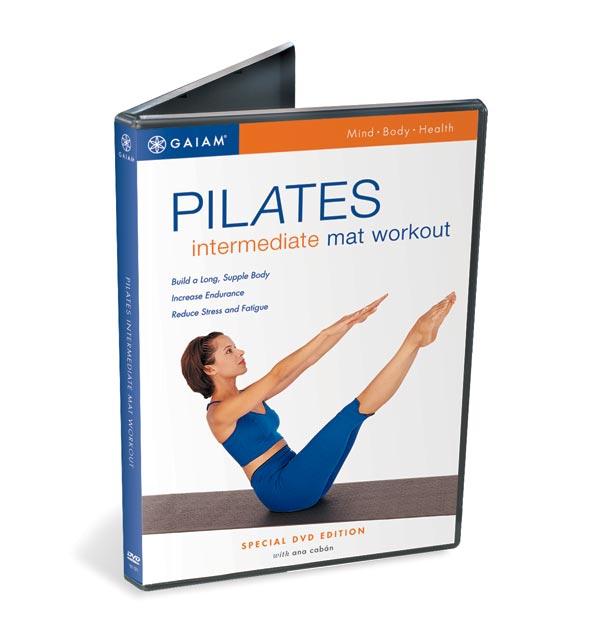 Gaiam Pilates Intermediate Mat DVD