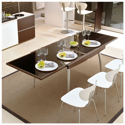 Galaxy dining tables for Table exterieur 12 personnes