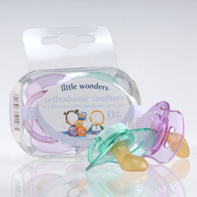 2 x Orthodontic Soothers