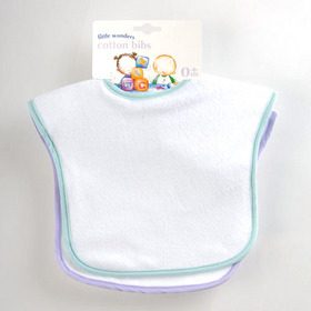 Little Wonders Cotton Bibs