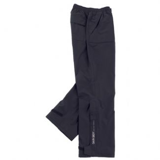 ALF WATERPROOF GORTEX GOLF TROUSERS BLACK / 36-44 INCH / 33 INCH XX