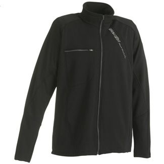 DENNIS FULL ZIP MENS GOLF JACKET BLACK/GUNMETAL / LARGE