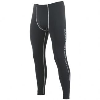EMERSON BASE LAYER LEGGINGS BLACK/ALUMINIUM / X-LARGE