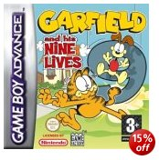 GameFactory Garfield And His Nine Lives GBA