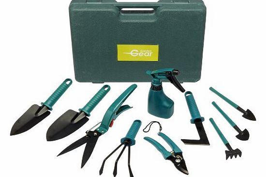 Garden gear garden tool set 10 piece review compare for Gardening tools description