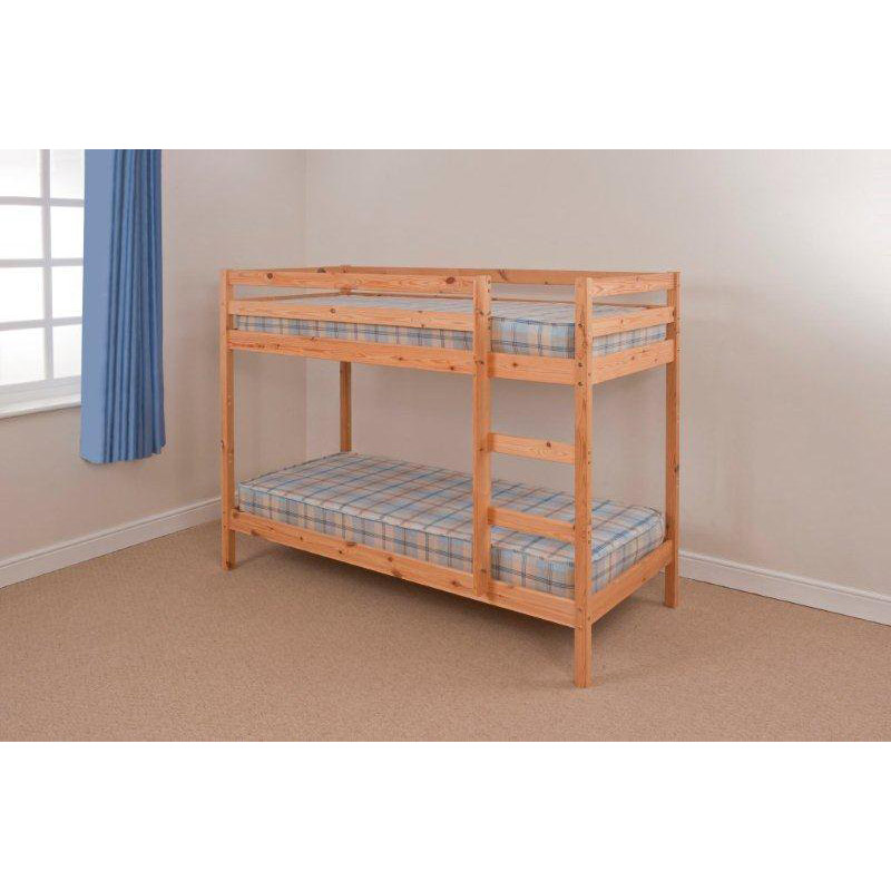 Gardens And Homes Direct Shaker Pine Bunk Bed With Mattresses Review Compare Prices Buy Online