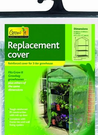 Gardman 3 Tier Mini Greenhouse Reinforced Replacement Cover