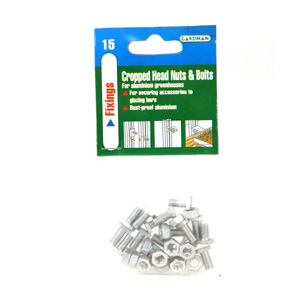 Greenhouse Cropped Head Nuts Bolts