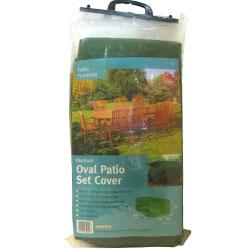 Gardman garden furniture for Oval patio set cover