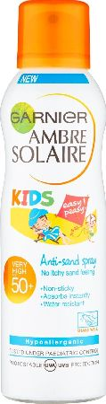 Garnier, 2102[^]0107682 Ambre Solaire Kids Anti-Sand Spray SPF50