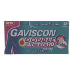 gaviscon double action how to take