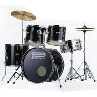 5 piece Drum Kit in BLACK
