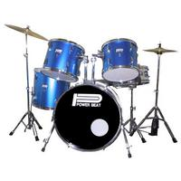 5 piece Drum Kit in BLUE