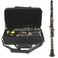 Student Clarinet by Gear4music, Ebony