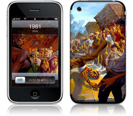 iPhone 3GS & 3G Skin 1981 by BUA