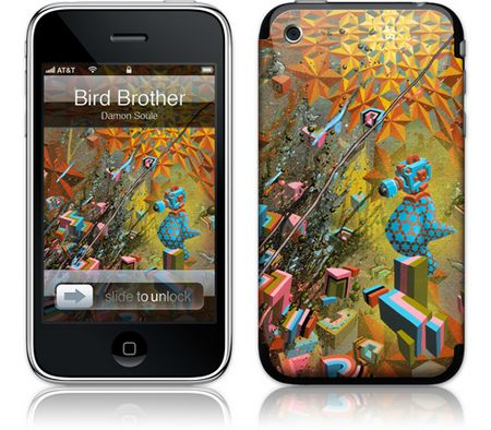 iPhone 3GS & 3G Skin Bird Brother by