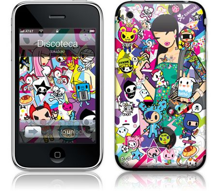 iPhone 3GS & 3G Skin Discoteca by