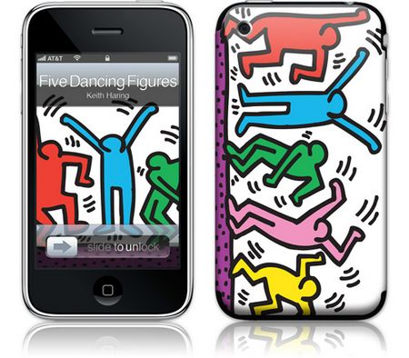 iPhone 3GS & 3G Skin Five Dancing