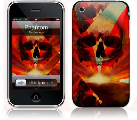 iPhone 3GS & 3G Skin Phantom by Alex