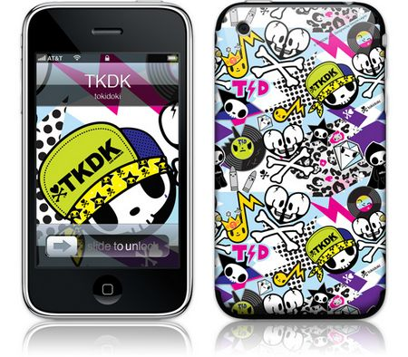iPhone 3GS & 3G Skin TKDK by Tokidoki
