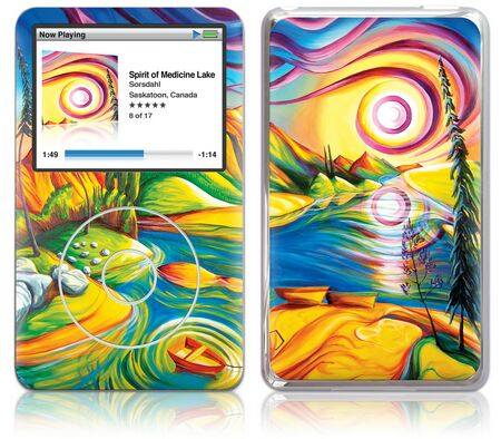 ipod classic skin spirit of medicine - cheap offers, reviews & compare