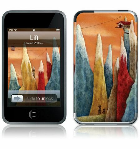 iPod Touch 1st Gen GelaSkin Lift by Jaime Zollars