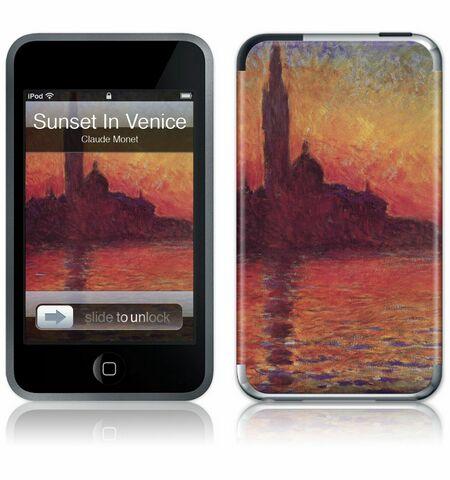 iPod Touch 1st Gen GelaSkin Sunset in Venice by