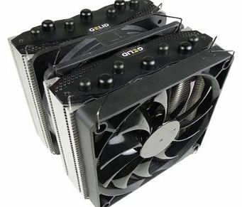 The Black Edition CPU Cooling System with 7 Thermal Conductive Pipes Multiple Award-Winning Slim 12 PWM and Silent 12 PWM Fans with GC-Extreme Thermal Paste