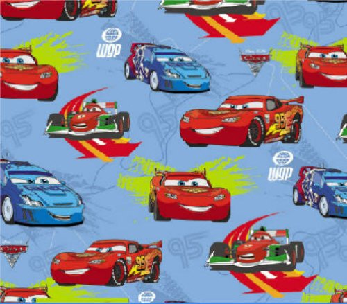 Disney Cars 2 Gift Wrap with 2 Tags 193312