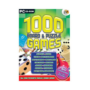 Generic 1000 Board & Puzzle Games PC