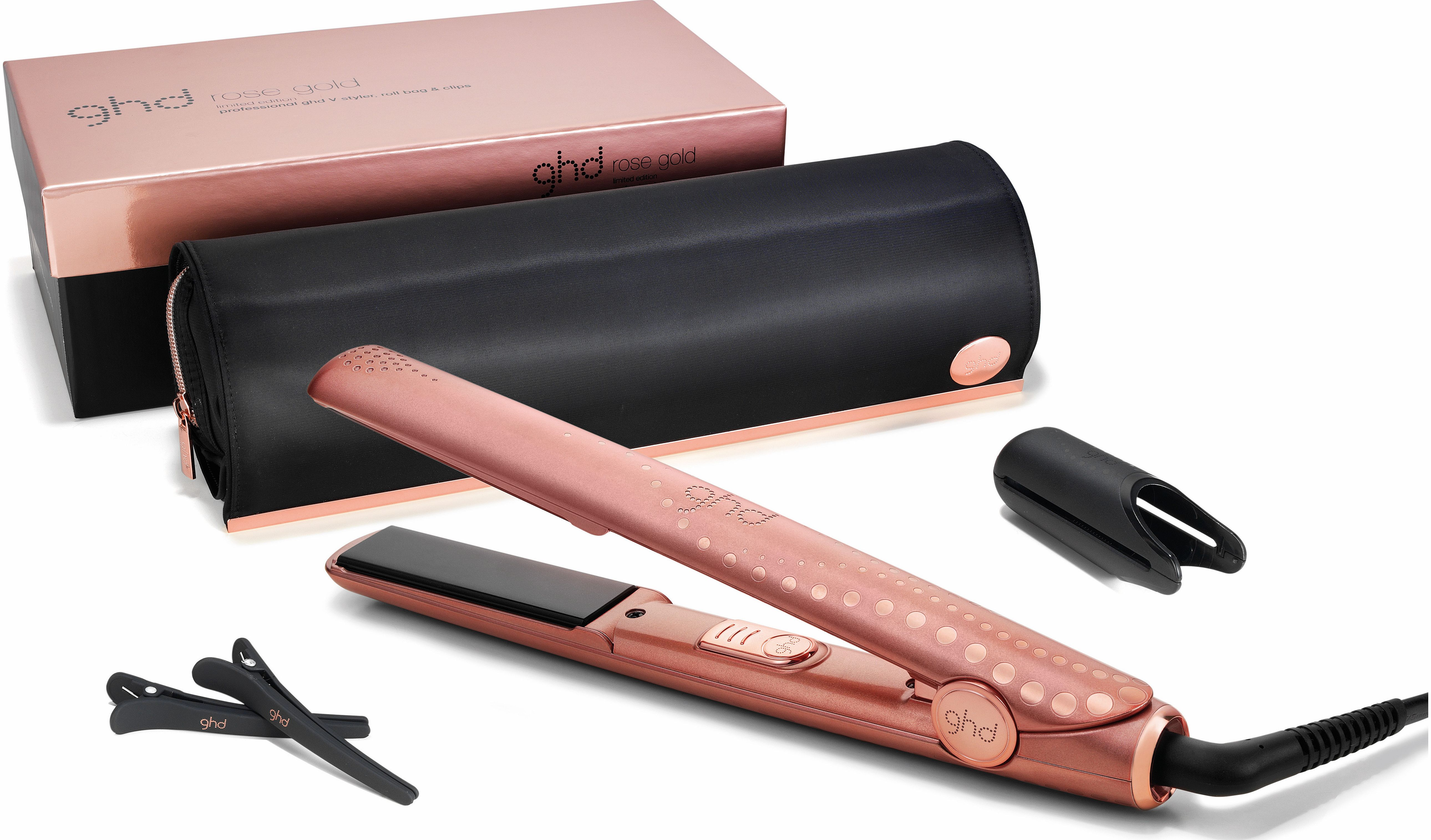 ghd v rose gold styler beauty product review compare prices buy online. Black Bedroom Furniture Sets. Home Design Ideas