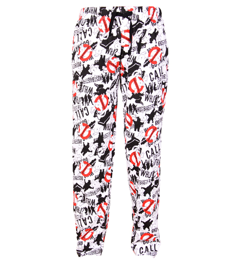 Ghostbusters Logo And Silhouette Lounge Pants