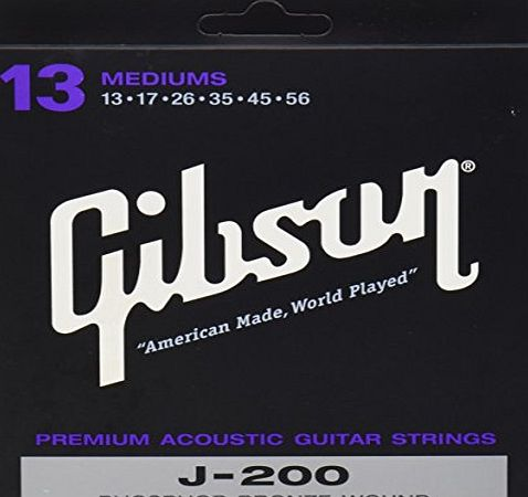 Gibson Phos Bronze Acoustic Strings 013 -056