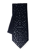Varying random pattern Swarovski crystal tie - CLICK FOR MORE INFORMATION