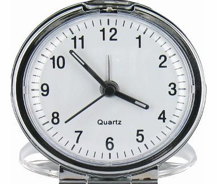 Travel Alarm Clock (TAC4)- Fold Up Analog Travel Clock