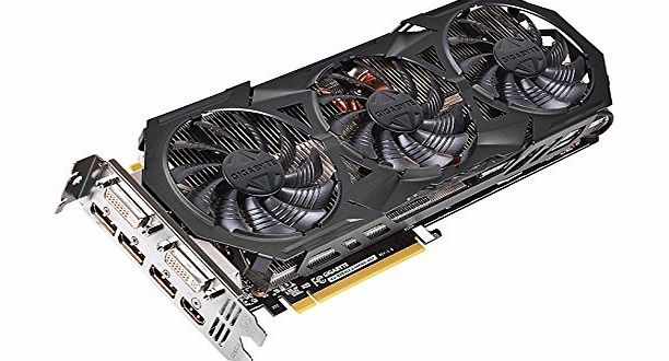 Gigabyte NVIDIA GTX 970 Gaming Graphics Card (4GB, PCI Express, 256 Bit) product image