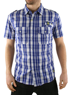 Gio Goi Blue Serment Shirt product image
