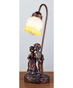 Kissing Boy Lamp