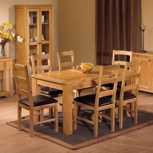 gloucester oak furniture dining room sets : gloucester oak furniture gloucester oak large dining set from www.comparestoreprices.co.uk size 500 x 500 jpeg 39kB