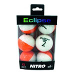 Nitro Eclipse Golf Balls 6 Pack