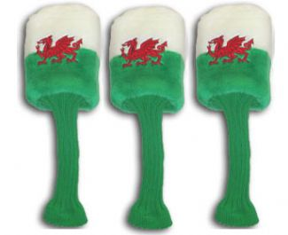 SET OF 3 WELSH HEADCOVERS