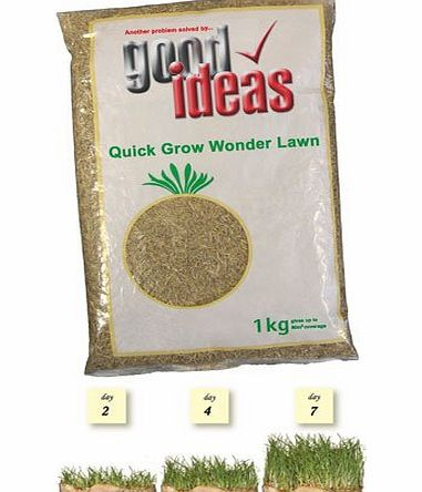 Good Ideas Quick Grown Wonder Lawn Seed to Grow A Luscious Green Lawn In Days.