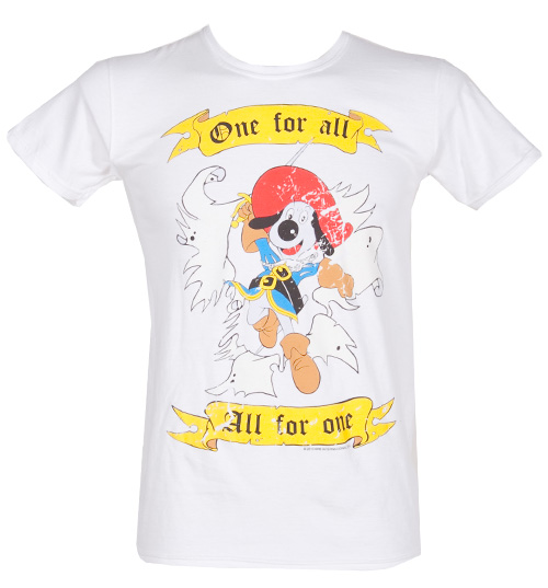 Good Times Tees Mens Dogtanian One For All T-Shirt from product image