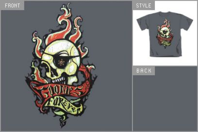 (Skull Tattoo) T-Shirt brv_17714003_D