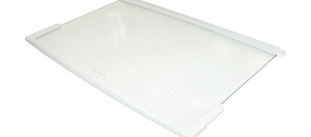 Gorenje Baumatic Beko Belling Frigidaire Gorenje Smeg Stoves Fridge Freezer Glass Shelf w/ White Trim. Genuine part number 613187 product image