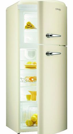 Gorenje RF60309OC 296litre RETRO Fridge Freezer Class A++ Cream product image