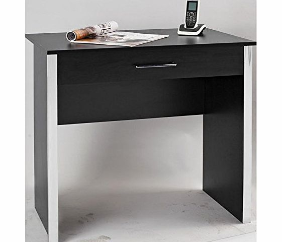 Gosport Desk Black 1 Drawer Compact Computer Workstation Gosport Laptop Table