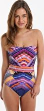 Gottex, 1295[^]263141 Venice Bandeau One Piece - Purple