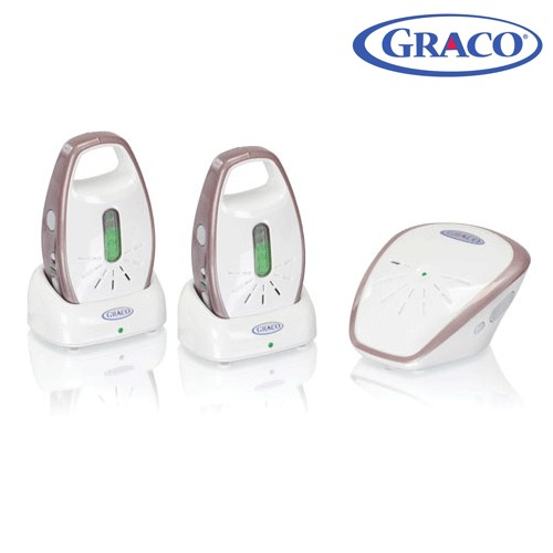 graco imonitor digital audio twin baby monitor review compare prices buy online. Black Bedroom Furniture Sets. Home Design Ideas